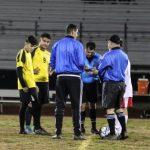 JV Boys Soccer v Hanford 1-14-19