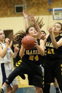 Varsity Girls Basketball vs Redwood 1-25-19