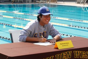 Mackenzie Garza signing day.  Photos thanks to Patrick Dillon