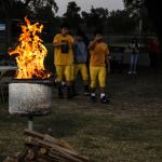 FOOTBALL CANDLE PASSING CEREMONY