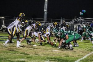 Varsity football vs Highland 11-15-19