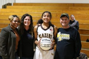 INDYA SMITH BREAKS SCHOOL RECORD IN BASKETBALL