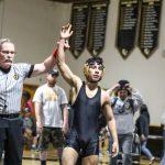 "GW's Ignacio ""LJ"" Ruiz Captures Wrestling Section Title"