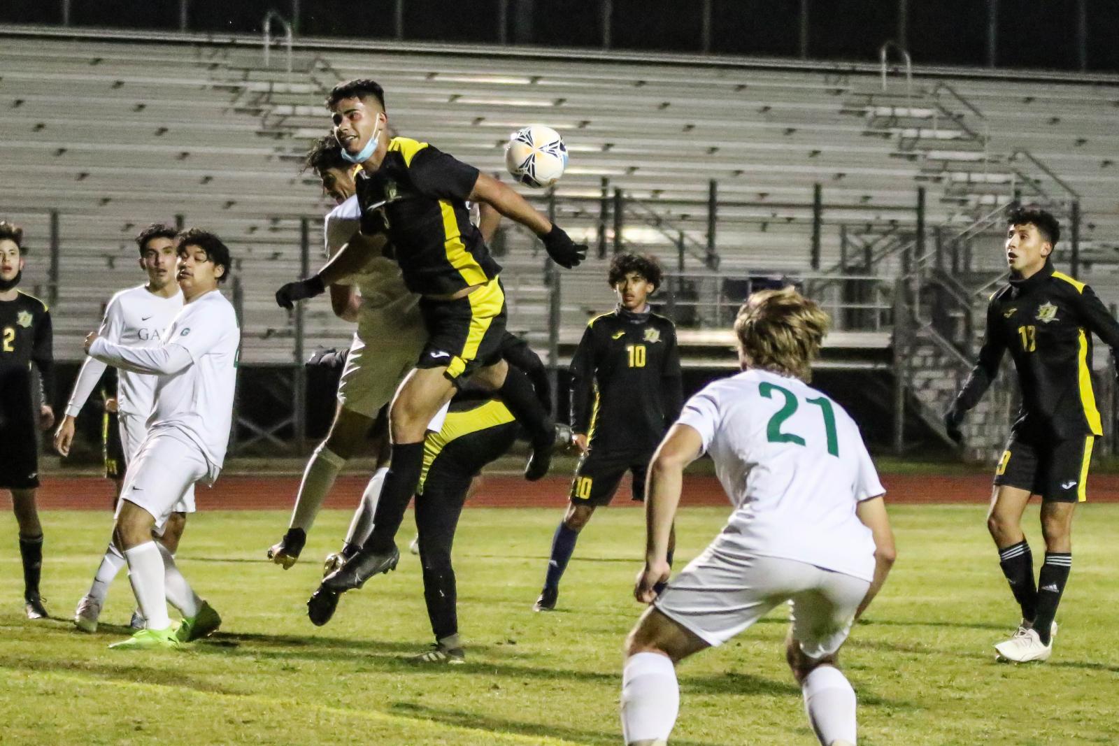 Soccer vs Garces 3-11-21