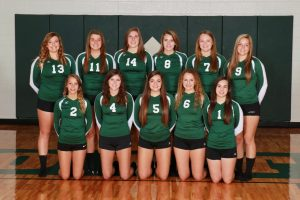2014 Girls Varsity Volleyball