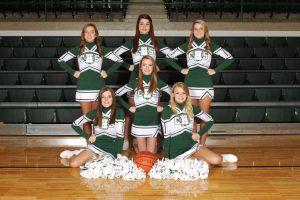 Basketball Cheerleaders 2014-15