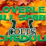 FALL SPORTS SCHEDULES AVAILABLE
