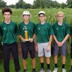 Boys Junior Varsity Golf finishes 2nd place at Armstrong JV Golf Invitational