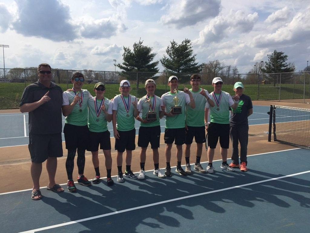 BOYS TENNIS:  CONFERENCE CHAMPIONS!