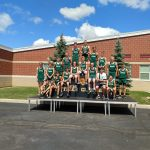 Cloverleaf boys xc finishes 2nd at Seneca East invite.