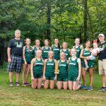 Cloverleaf Girls XC team finishes 3rd at Ashland Invite