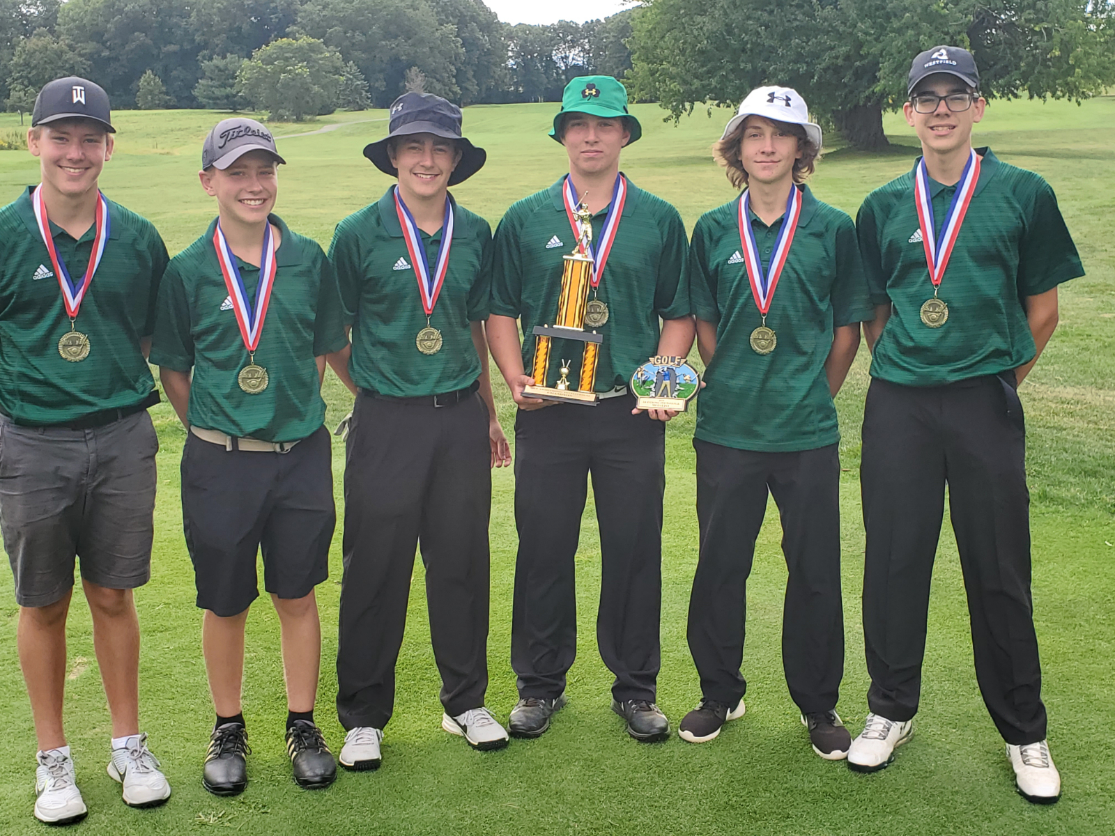 Boys JV Golf Win Armstrong Invitational
