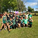 Cloverleaf boys XC team finishes 3rd at the Galion Invite