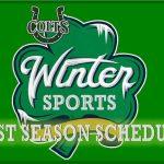 Winter Sports Post Season Schedule