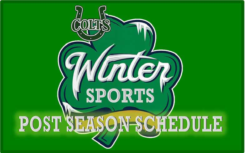 Winter Sports Post Season Schedule