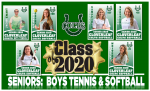 Honoring Class of 2020:  Boys Tennis & Softball