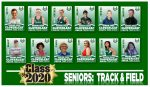Honoring the Class of 2020:  Track & Field