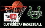 Lived Streamed Cloverleaf Basketball Home Games