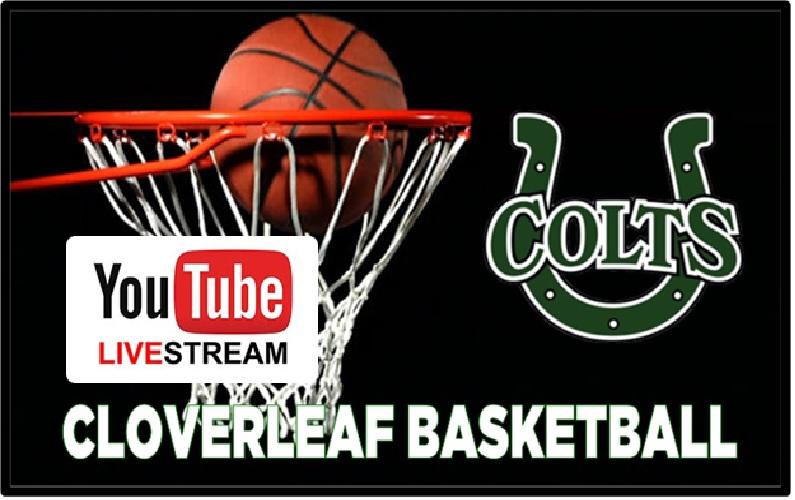 Lived Streamed Cloverleaf Basketball Home Games