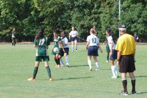 Girls JV Soccer – Springbrook HS vs. Kennedy HS 9.5.15