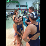 Springbrook High School Girls Varsity Swimming & Dive beat Seneca Valley High School 90-76