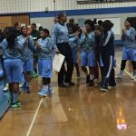 Springbrook High School Girls Varsity Basketball falls to Blake 42-51