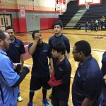 Springbrook High School Coed Varsity Bocce Corollary beat Montgomery Blair High School 2-0