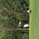 Springbrook High School Coed Varsity Golf falls to Seneca Valley High School 283-306