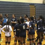 Springbrook High School Girls Varsity Volleyball falls to Quince Orchard High School 3-0