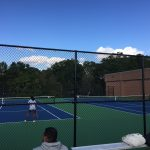 Springbrook High School Girls Varsity Tennis beat John F Kennedy High School 5-2