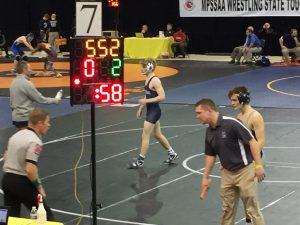SHS Wrestling at State Championship