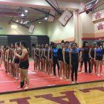 Springbrook High School Girls Varsity Gymnastics finishes 2nd place