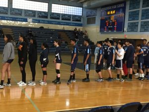 Coed & Boys Varsity Volleyball vs Sherwood 3/29/17