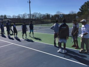 Varsity Boys Tennis vs Seneca Valley 3/29/17