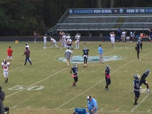 Hall of Fame Game vs Wootton 10/6/17