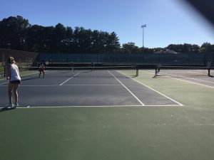 Girls Tennis vs Einstein 10/4/17