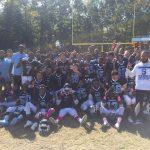 Boys Junior Varsity Football beats Colonel Zadok Magruder 42 – 16