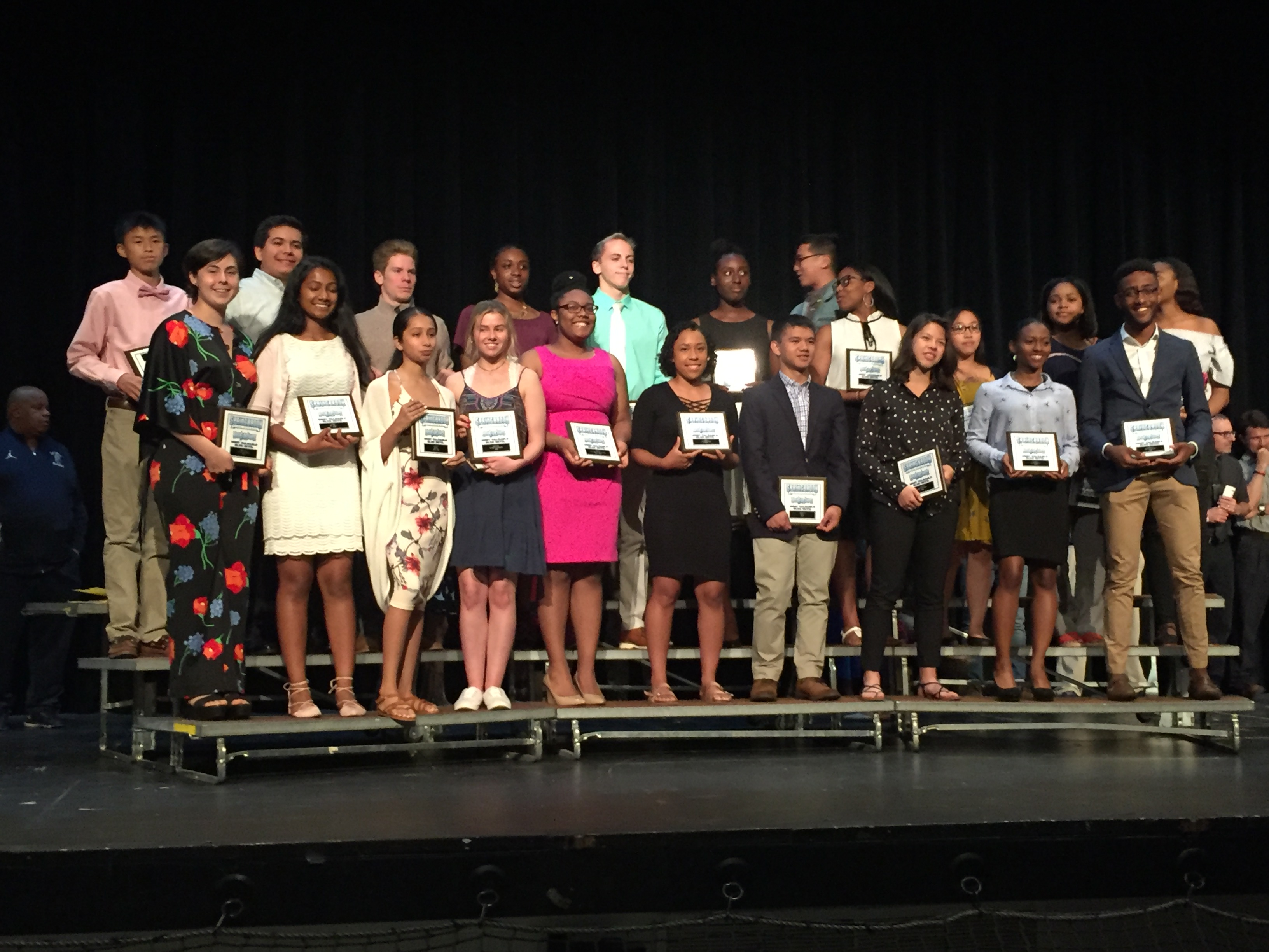 SHS Varsity Athletics Awards Night Winners