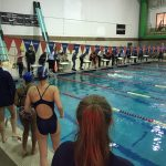 Girls Varsity Swimming falls to Wheaton 116 – 70