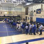 Varsity Wrestling beats Sherwood 44 – 27
