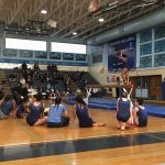 Girls Varsity Gymnastics competes hard vs Sherwood