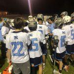 Boys Varsity Lacrosse beats Magruder 12 – 11
