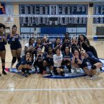Girls Varsity Volleyball beats Watkins Mill 3 – 2