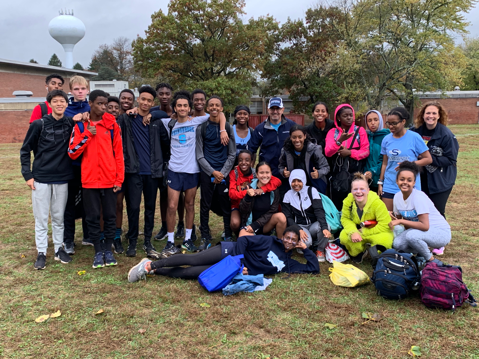 Cross Country Qualifies for States!!