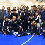 Varsity Wrestling finishes 1st place at Aberdeen Golden Eagles Duals Tournament