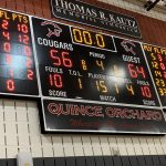 Boys JV Basketball beats Quince Orchard 64 – 56 in season finale
