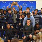 Varsity Wrestling finishes 1st place at MCPS Championship