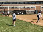 Girls Varsity Softball beats John F Kennedy