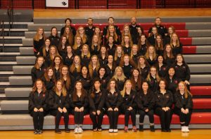 2016/2017 Girls Swimming/Dive Team Photos