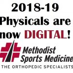 ATTENTION! 2018-19 PHYSICAL PACKET IS DIGITAL